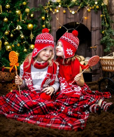 Новогодние праздники с малышом