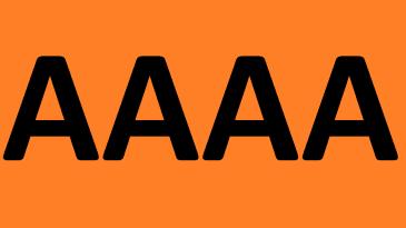 Изучаем букву «А»