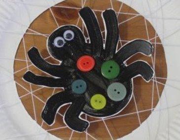 Паучок на паутинке