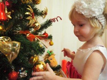 Новогодний праздник дома