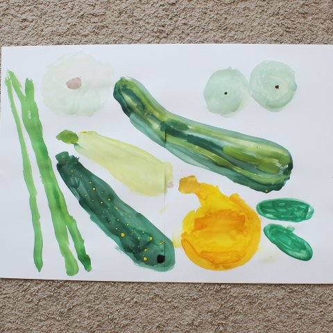 Activity picture for Yellow-green still life in Wachanga