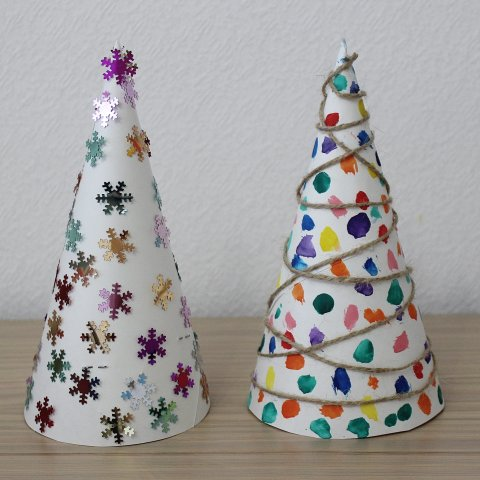 Activity picture for Make paper Christmas Trees in Wachanga