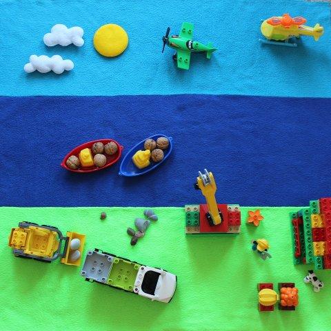 Сшейте для ребенка коврик для игр