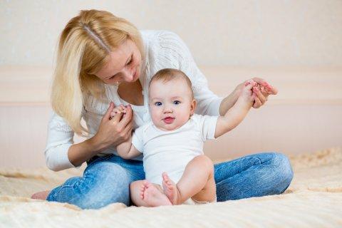 Картинка к занятию Как развивать малыша в 6 месяцев в Wachanga