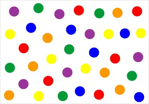 """Make """"The Colourful Circles"""" applique with your toddler"""