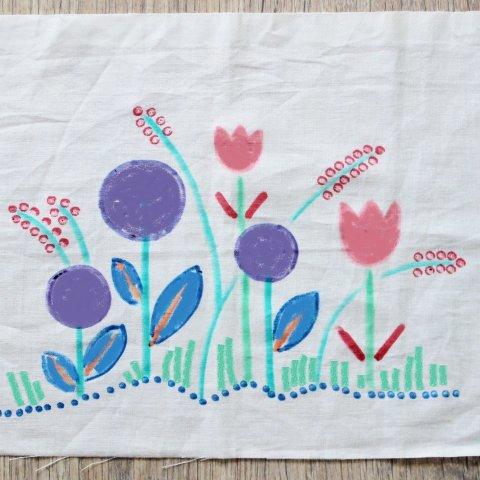 Картинка к занятию Роспись по ткани в Wachanga