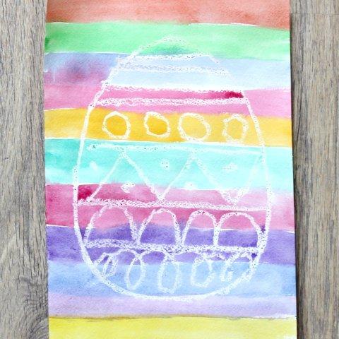 Картинка к занятию Необычная пасхальная открытка в Wachanga