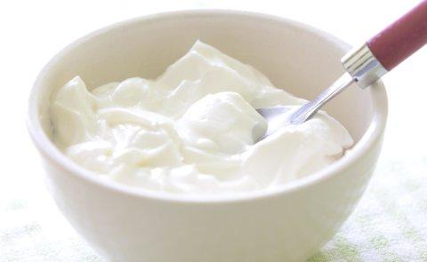 Рисунки йогуртом