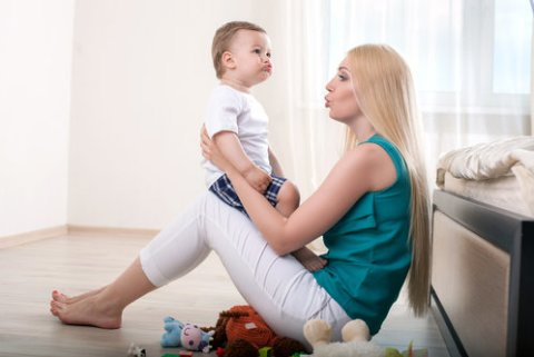 Как развивается речь ребенка в 9 месяцев