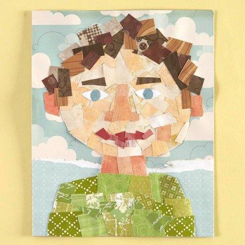 "Картинка к занятию Аппликация-мозаика ""Папин портрет"" в Wachanga"