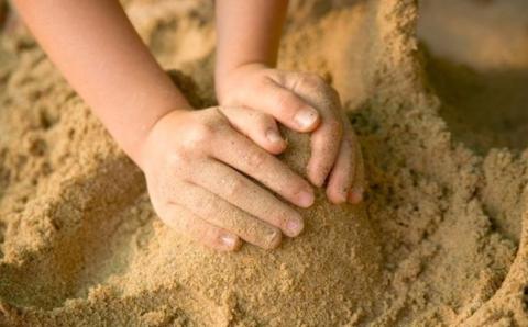 Play in the sandbox
