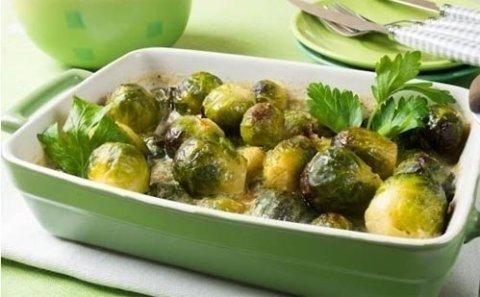 Полезные рецепты: «Запеченная брюссельская капуста»