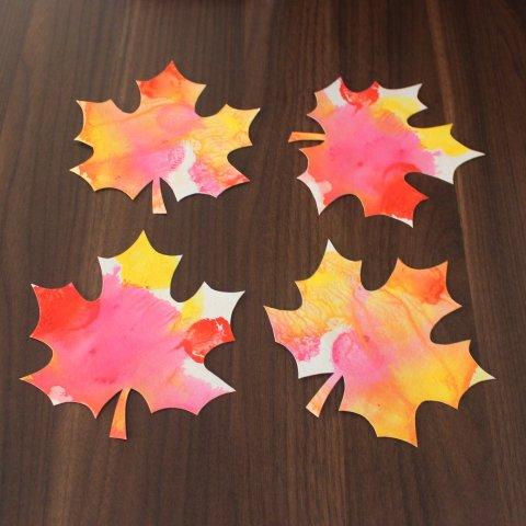 Картинка к занятию Осенние листья в Wachanga