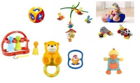 Какие нужны игрушки в 3 месяца
