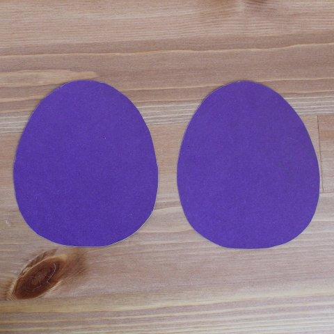 поделка пасхальное яйцо заготовка перед украшением