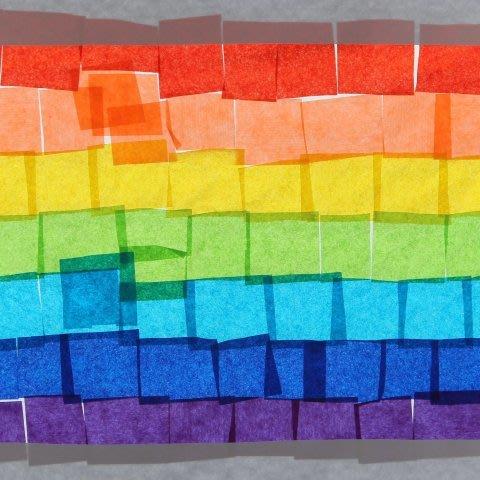 "Applique ""The Rainbow"""