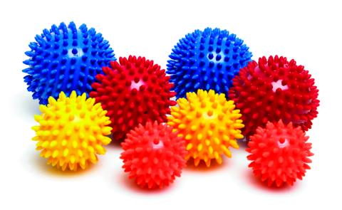 Колючие мячики-ёжики