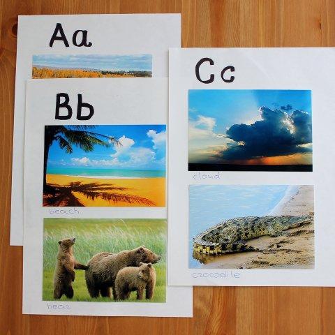 Craft an ABC book