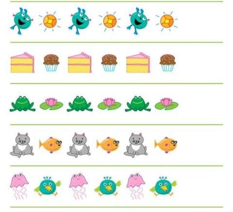 Картинка к занятию Логические ряды в Wachanga