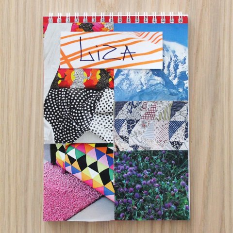 Activity picture for Decorate a notebook cover in Wachanga