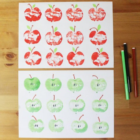 Activity picture for Fall wrapping paper in Wachanga