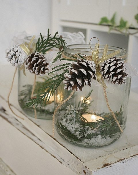 Activity picture for Christmas candleholders in Wachanga