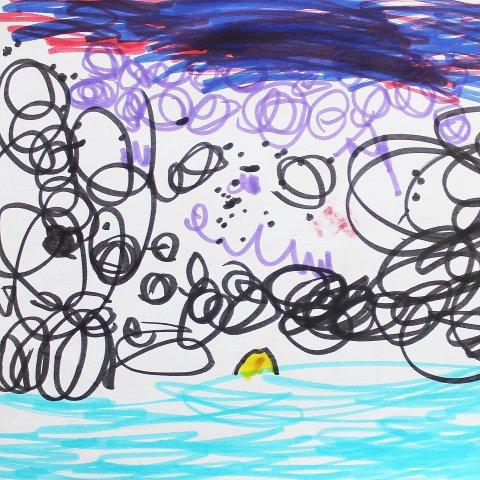 Картинка к занятию Порисуйте вместе с малышом фломастерами в Wachanga