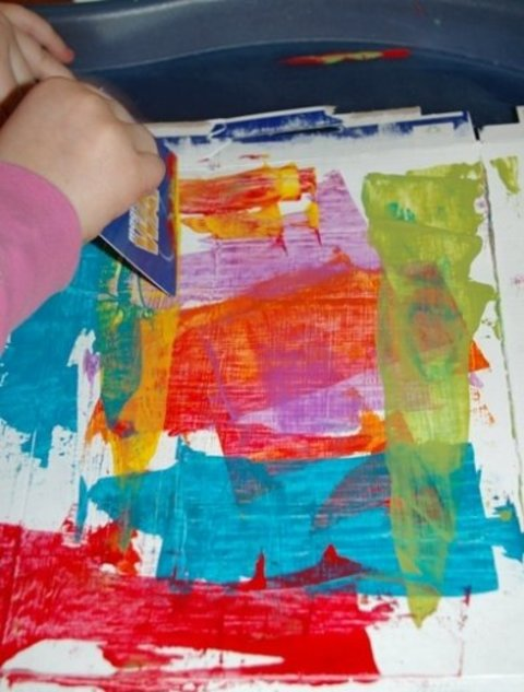 Картинка к занятию Необычное рисование в Wachanga