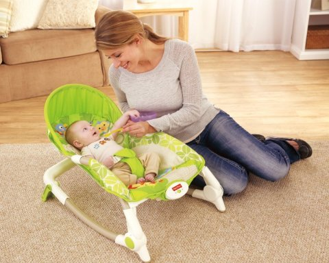 Put your little one in a baby rocking chair