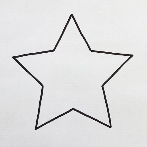 рисунок звезды