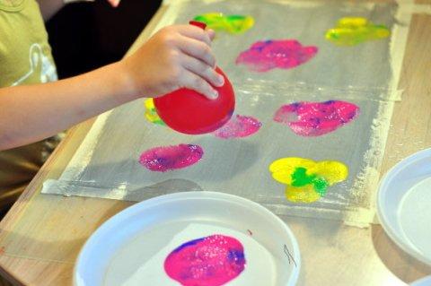 Рисуем воздушными шарами