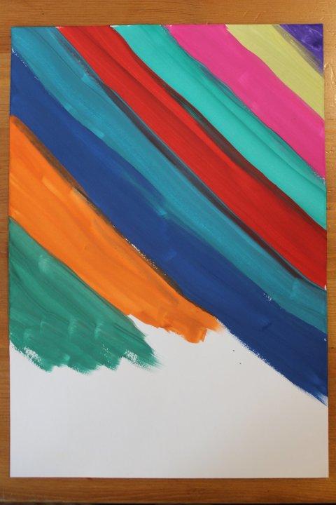 как вместе с ребенком нарисовать фон для картины гуашью