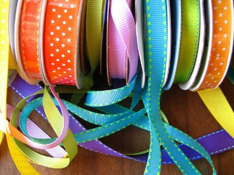 Bright ribbons