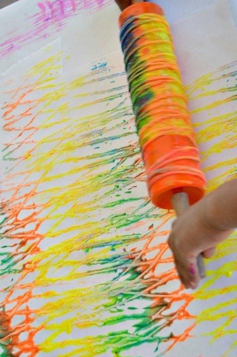 Картинка к занятию Порисуйте скалкой в Wachanga