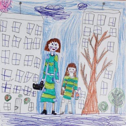 ребенок способен удивлять в своих рисунках