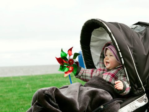 Spring walk with your little one