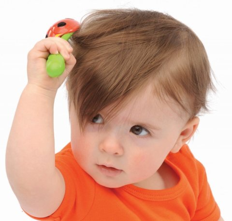 Arrange a hairdressing salon with your baby