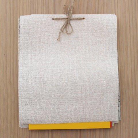 Make a multicolored sketch pad