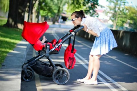 Take your little one for a walk to the park