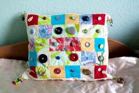 Развивающая подушка для крохи