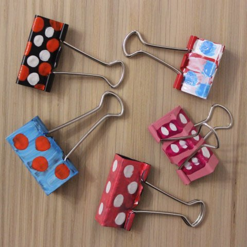 Decorate clips