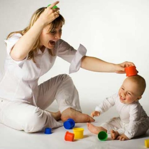 """Play the game """"Repeat After Me!"""" with your baby"""