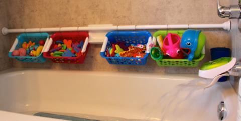 Игрушки в ванной