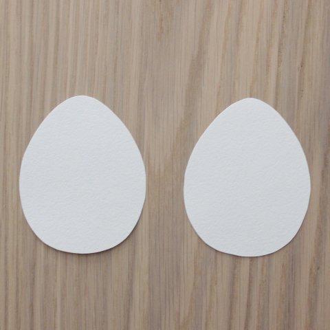 открытки в форме яичек