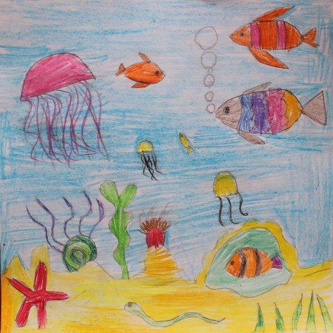 Картинка к занятию Порисуйте цветными карандашами в Wachanga
