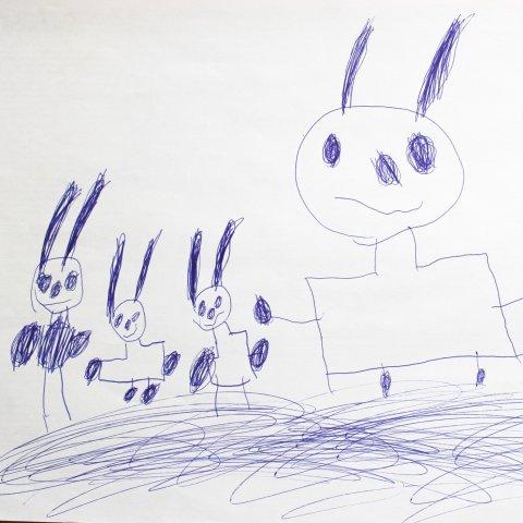 необычный взгляд на привычное творчество детей
