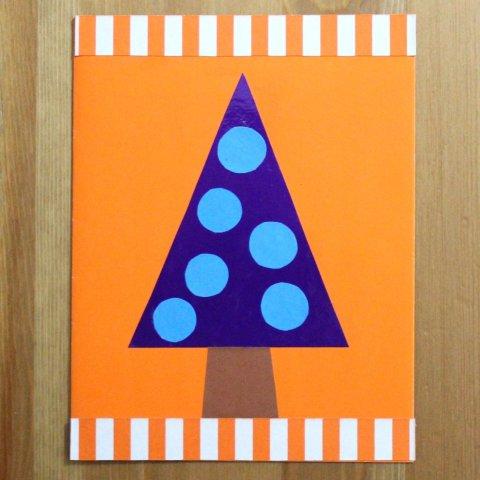 украшение елочки для открытки детская поделка