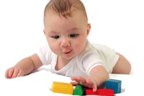 Playing with your 6 month old baby