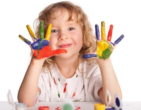 Картинка к занятию Цветные пальчики в Wachanga