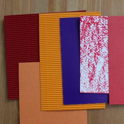 цветная бумага для аппликации